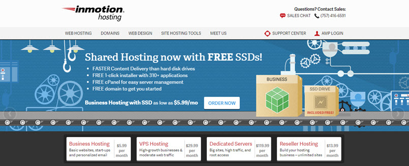 inmotionhosting-7 Best service for WordPress Shared Hosting