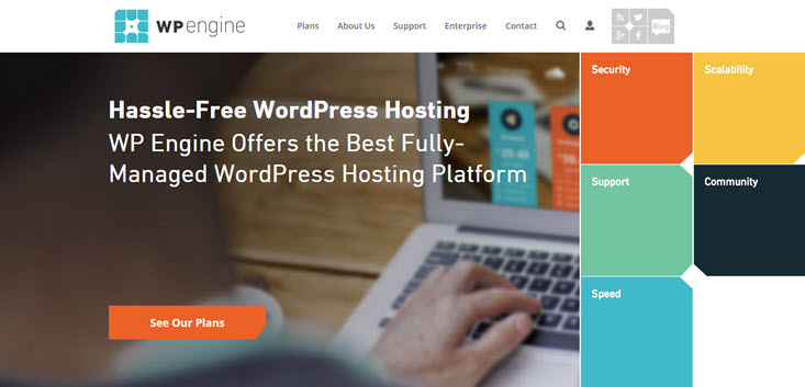 wpengine-7 Best service for WordPress Shared Hosting