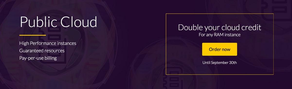OVH double credit.earns.io
