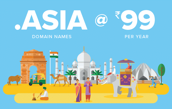 Register .ASIA domain from <img class=