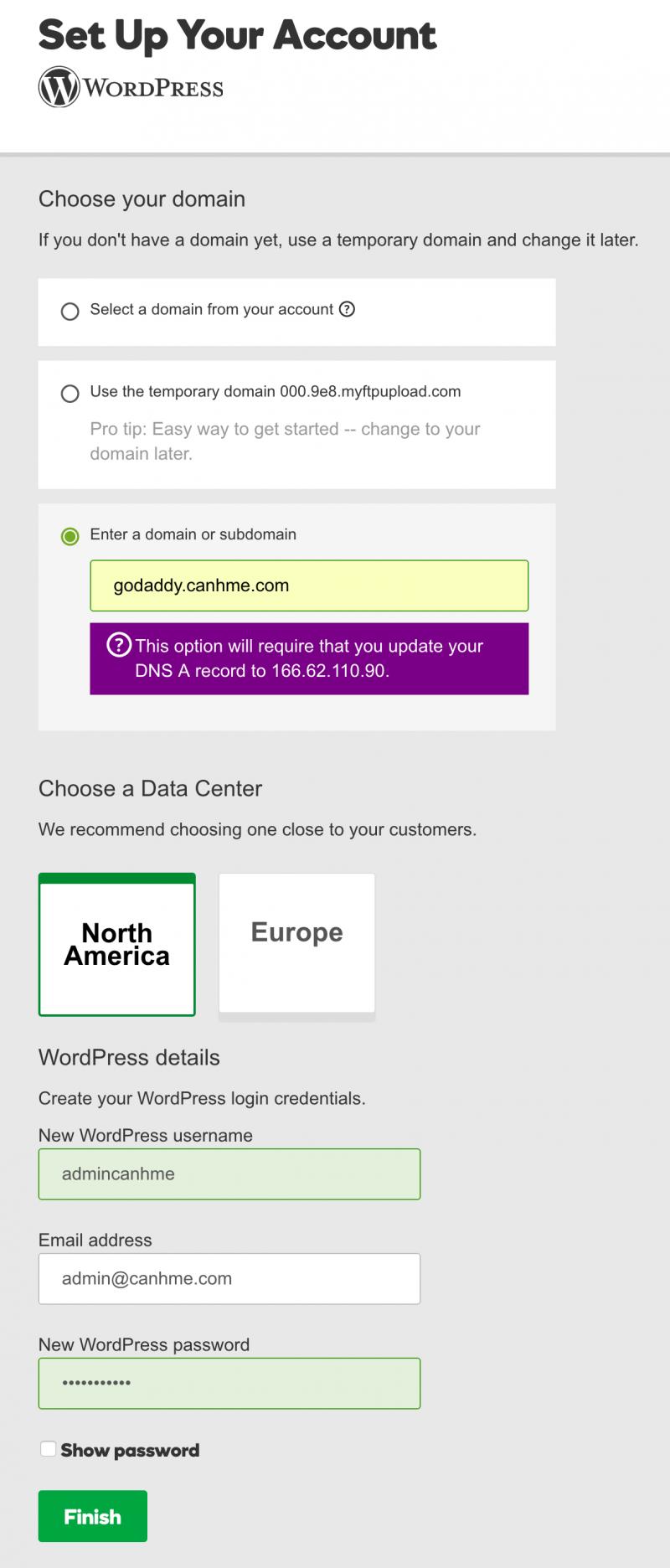 How to use GoDaddy WordPress Hosting