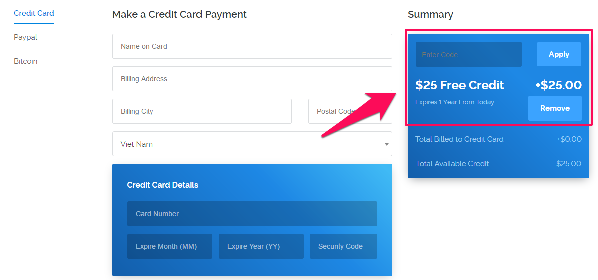 Vultr  FREE Credit score for a 12 months Long
