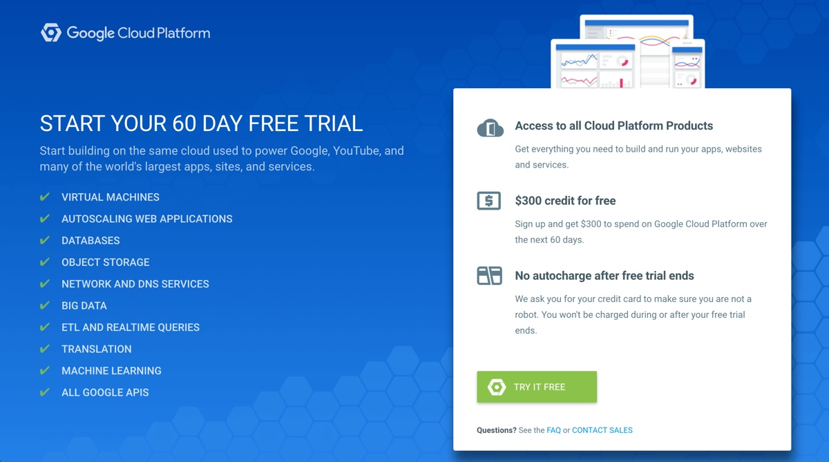 Google Cloud Free Trial