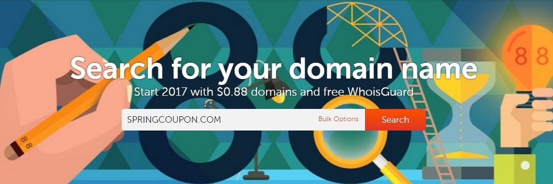 Namecheap Crazy Sale – Domain Names at Just $0.88/Year