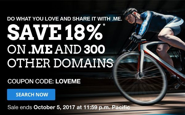 New 18% Coupon on Domain Names, Switch & Renew Possible