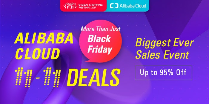 Single Day eleven-eleven Provide – Store As much as 95% on All Services and products at Alibaba Cloud