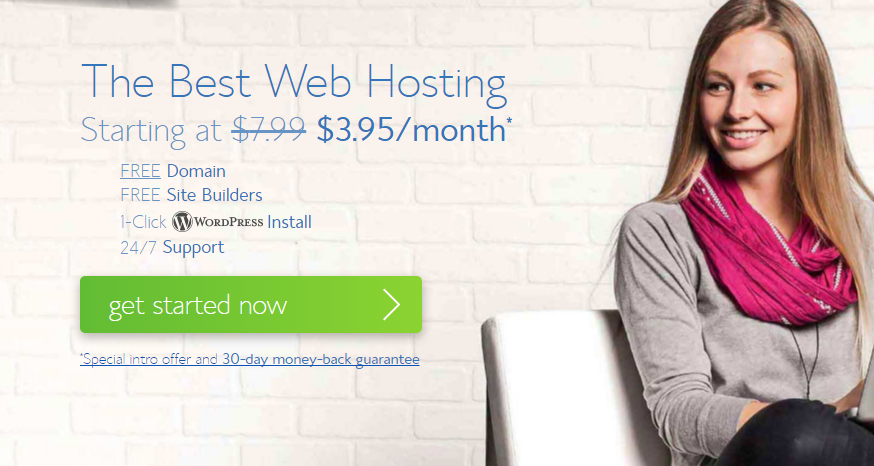 Store As much as 50% OFF on Bluehost Hosting – Just From .95/mo, Free Domain