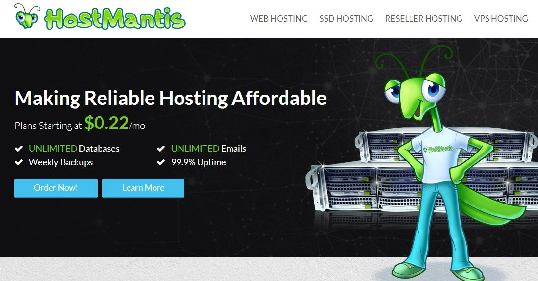 Black Friday, HostMantis Discount rates eighty% FOR LIFE All Hosting Plans
