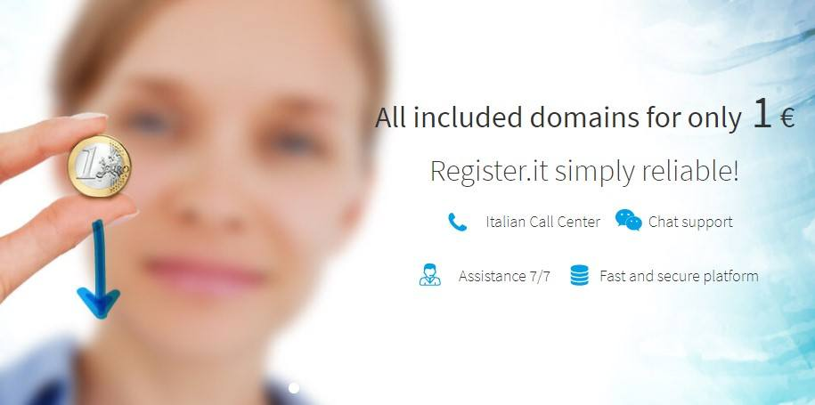 Clutch .COM Domain for Purely €1.00 ($1.16) at Register.it
