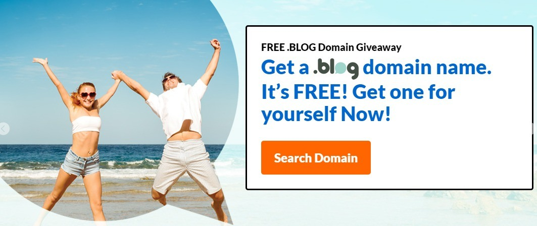 Get Your FREE .BLOG Domain NOW at Exabytes