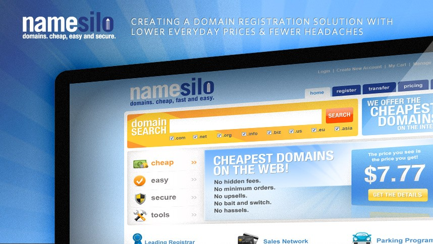 NameSilo Increased Promotions On .INFO & .PRO Domains until eventually June 30, 2018