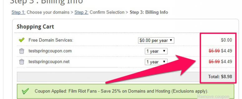 Flash Sale! Register Limitless .COM and .NET Domains Just $4.49